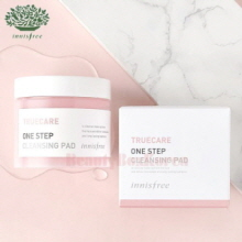INNISFREE Truecare One Step Cleansing Pad 120g/70ea [Online Excl.],INNISFREE
